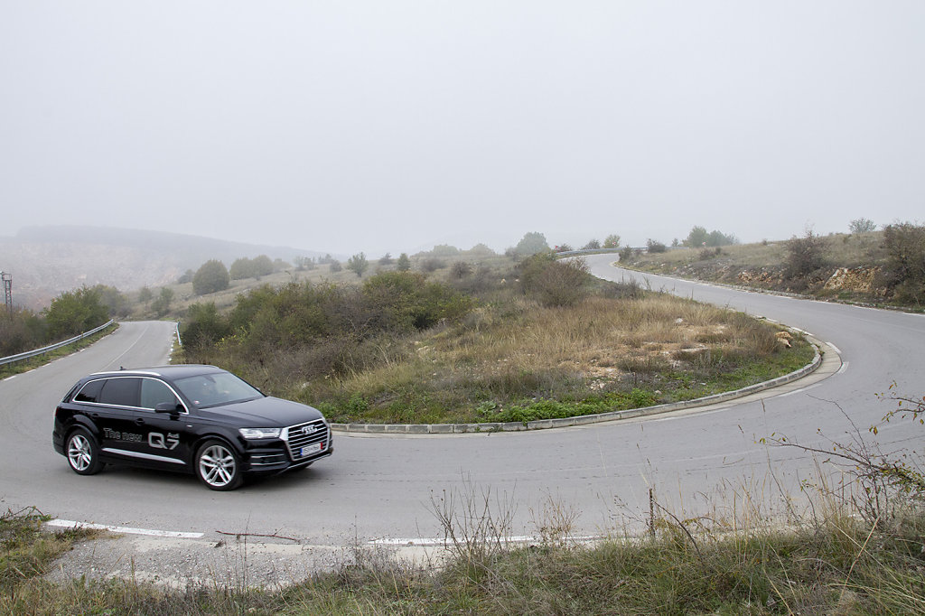 Audi Q7 Test Drive for Actualno.com