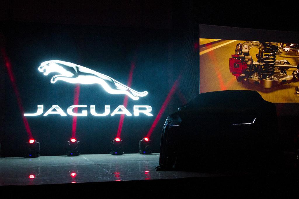 Jaguar F-pace launch